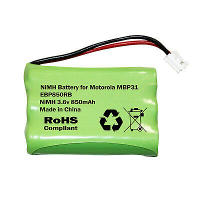 Motorola MBP31 Baby Monitor Rechargeable Battery Pack AAA 3.6v 850mAh NiMH