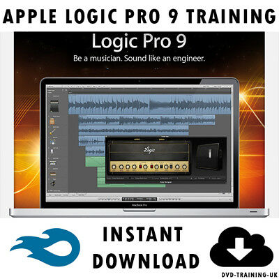 Apple Logic Pro 9 – Professional Video Training Tutorial - Instant Download