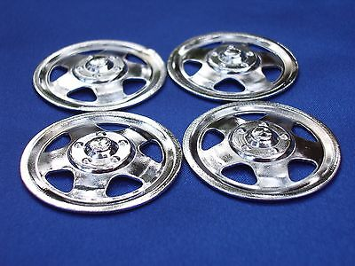 Set Of Four 1959-1967 Tonka Triangle Hole Hubcaps ~ Parts