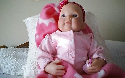 reborn doll Dumplin by Donna Rubert finished by dk