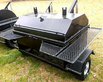 Custom Made Bbq Pig Cooker Smoker *new* & Accessories