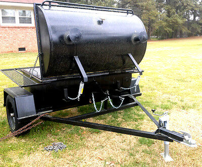 Custom Made Bbq Pig Cooker Smoker *new* & Accessories - Extra Large