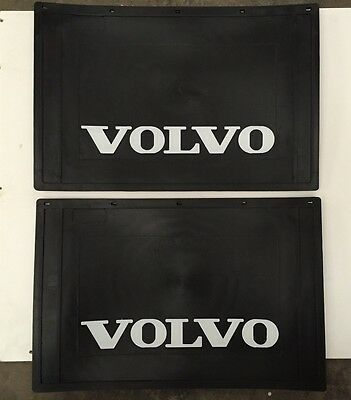 Pair of Volvo Truck Mudflaps 600mm x 400mm