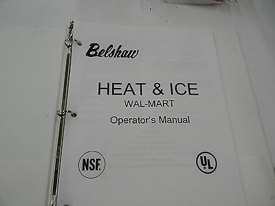 Belshaw Heat & Ice Operator Manual MN-1731WM  D2