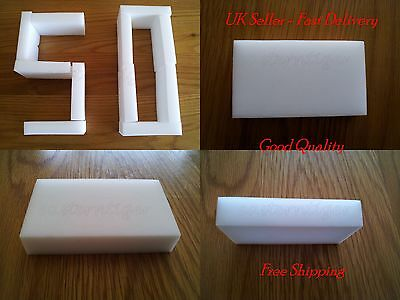 50X High Quality Magic Sponge Eraser Chemical Free Stain Remover by TrisunUK