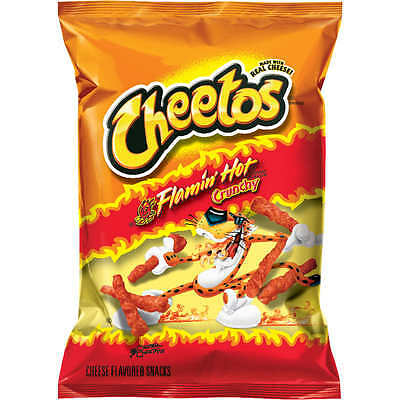 Cheetos Flamin' Hot  Crunchy Snacks - 1 oz. bags - 42 ct. Bags