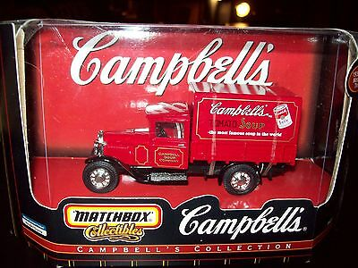 1932 FORD MODEL AA TRUCK CAMPBELL'S TOMATO SOUP 1:43 SCALE  MATCHBOX CAMPBELLS