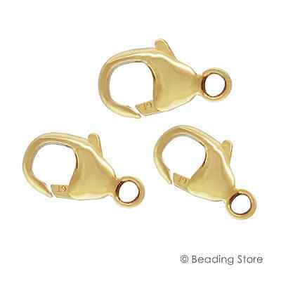 Various 14ct Yellow Gold Filled Cast Trigger Lobster Parrot Clasp Clasps 14k GF