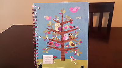 New - 2015 Woodland Critters 8x10 Weekly Planner