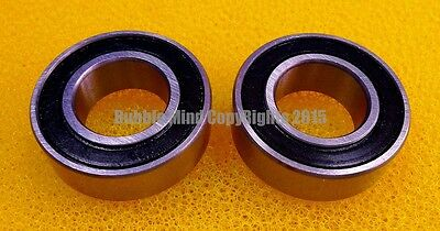 4 PCS - 15267-2RS (15x26x7 mm) Rubber Sealed Ball Bearing Bearings BLACK 15*26*7