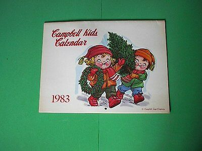 Campbell's Kids 1983 Calendar  Complete with Coupons