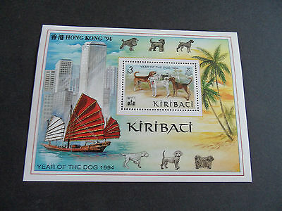 Kiribati 1993 Sg Ms431 Year Of The Dog Mnh