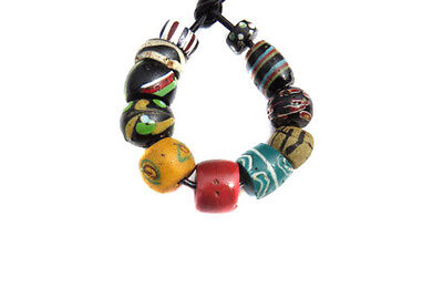 Fine old Venetian Antique Mixed African Glass Trade beads