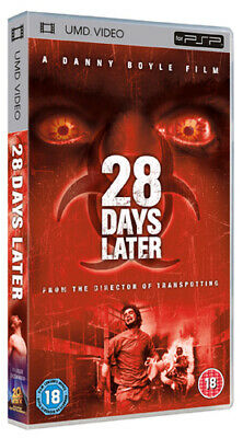 28 Days Later  DVD UMD Mini for PSP