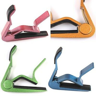 Brand New Quick Changing Clamp Key Capos Cute For Electric Acoustic Guitars - 6A