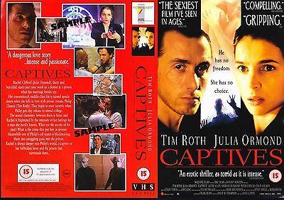 Captives, Tim Roth Video Promo Sample Sleeve/Cover #14644