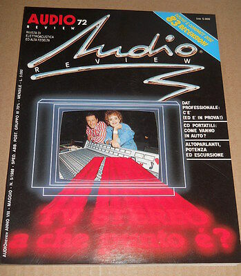 AUDIOreview n. 72 - maggio 1988 - TV stereo