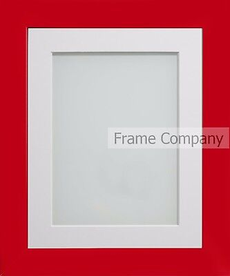 Frame Company Candy Range Crimson Picture Photo Frames with Choice of Mounts