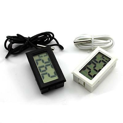 Home Office Fish Tank LCD Digital Thermometer Temperature Measuring Kit DC 1.5V