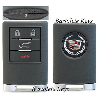 OEM 4 Buttons Keyless Entry Remote Driver #2 Fits 2008 2009 2010 Cadillac CTS
