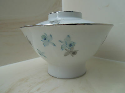 Harmony House Blue Orchid 3638 Covered Bowl