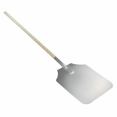 """Pizza Peel Bakers Oven Restaurant Paddle - Wooden Handle - 122cm (48"""") Overall"""