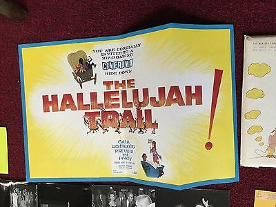 1965 Press Kit for MIRISCH/UNITED ARTIST Release of THE HALLELUJAH TRAIL 193 pcs