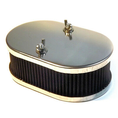 "Carburetor AIR FILTER 65mm 2""1/2 cleaner Weber DCOE, Solex ADDHE, Dellorto DHLA"