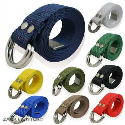 Childrens Belts Nylon Funky Belts Boys Girls Canvas Look Belt Kids Webbing Belts
