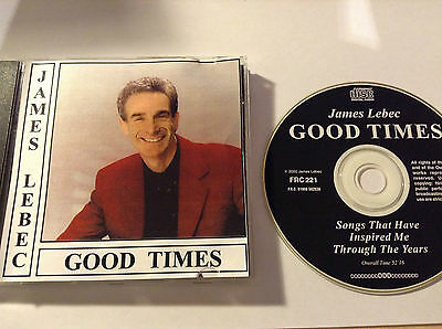 James Lebeq - Good Times - Private Cdr Type Freepost Cd
