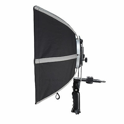 50cm Foldable Selens Hexagonal Umbrella Speedlight Softbox Diameter