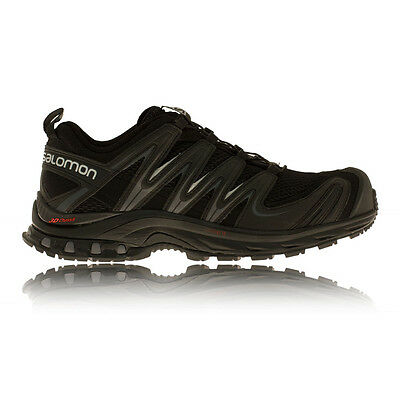 Salomon XA Pro 3D Mens Black Sneakers Quicklace Trail Running Shoes Trainers