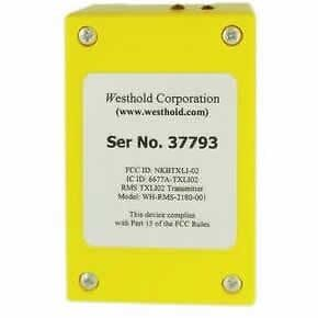 Westhold Raceceiver racing rechargeable Transponder ONLY NEW Yellow