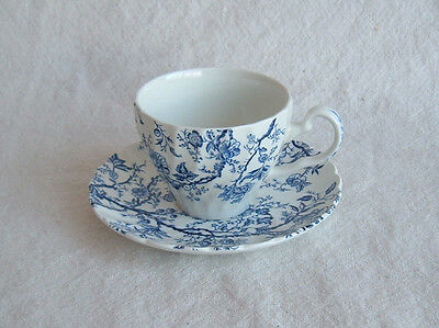 "1 VTG Cup and Saucer by Johnson Brothers ""Old Bradbury"" Bone China, England"
