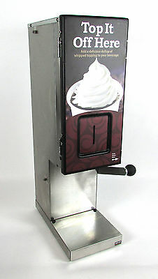Server Products 87350 SIMS Simple Serv Topping Dispenser SS Construction