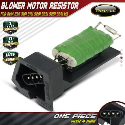 Blower Motor Heater Fan Resistor for BMW E36 316i 318i 320i 323i 325i 328i M3