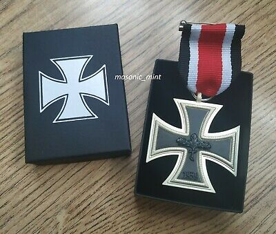 Iron Cross Medal - 1870 German Repro - Includes Ribbon & Gift Box