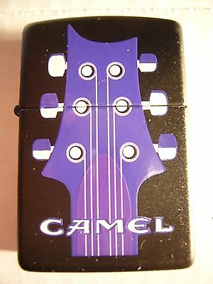 Zippo Camel Guitar and Music Note Lighter from circa 1995
