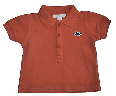 Marie Chantal Rust Polo Top Age 6 Months NWT