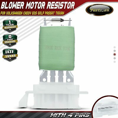 Blower Motor Heater Fan Resistor for Volkswagen Caddy Eos Golf Passat Tiguan