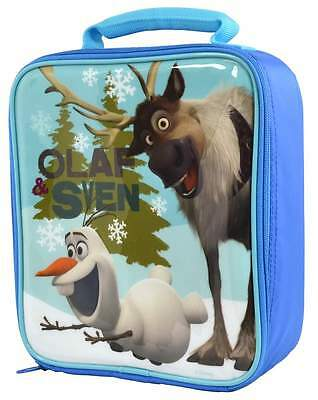 Disney Frozen Olaf and Sven Vertical Lunch Bag/Box