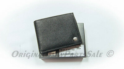 Genuine BMW Lifestyle Collection High Quality Embossed Cowhide Men's Wallet