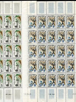 37392a) MOROCO 1963 MNH** Freedom from hunger 2v - FULL SHEET (25 sets)