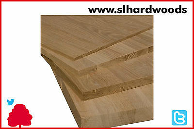 Solid Oak Wood Furniture Panels Ideal for Table Tops Solid Cupboards etc