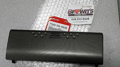 New Genuine Honda S2000 Cr Carbon Fiber Radio Trim 77252-S2A-902Zg