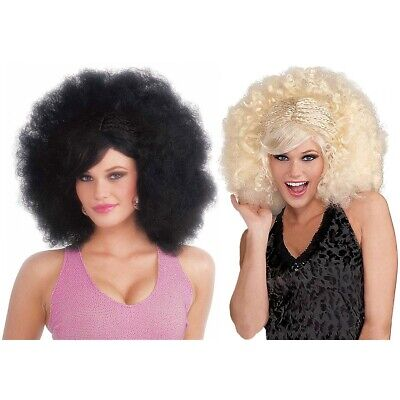 Funky Pop Afro Costume Accessory Adult Halloween