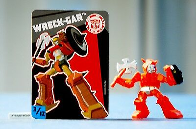 Transformers Tiny Titans Series 3 Robots in Disguise 3/12 Wreck-Gar