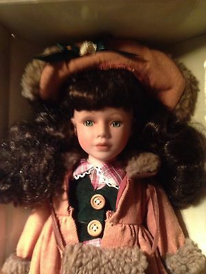 """Angelina Collection """"Limited Edition"""" Porcelain Doll (Year 2001 Edition)"""