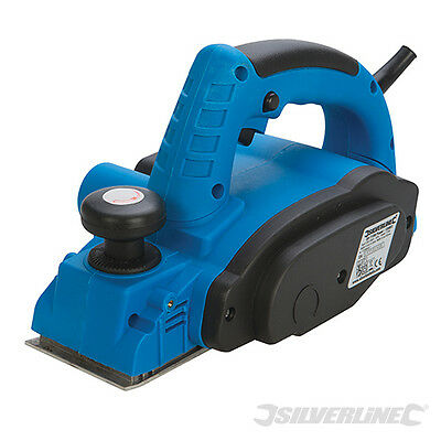 Heavy Duty Silverline 710W 82Mm Electric Wood Planer File Sander 3 Year Warranty