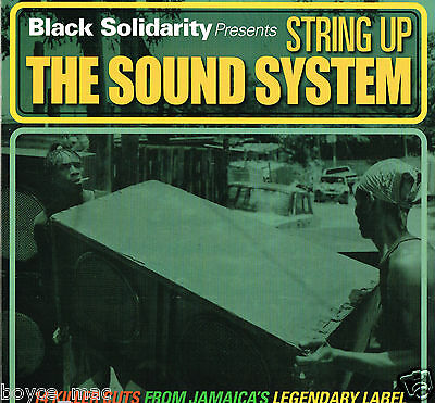 LP : VARIOUS-black solidarity presents string up the sound system    (hear)